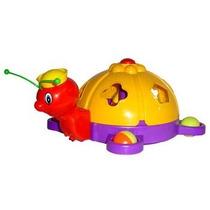 Brinquedo Abelha Didática Com Blocos Para Encaixar Calesita