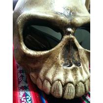 Capacete Caveira Old Bones 3d Custom De Casco Regulamentado