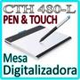 Mesa Digitalizadora Tablet Desenho Wacom ** Pen & Touch **