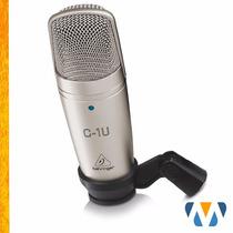 Microfone Condensador C1-u Behringer Usb C1u