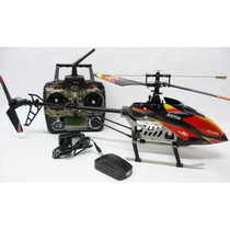 Helicóptero Wltoys V913 4-ch 2.4ghz Rtf + Kit X Treino