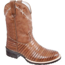 Bota Texana Casco Tatu / Country / Western Capelli Boots
