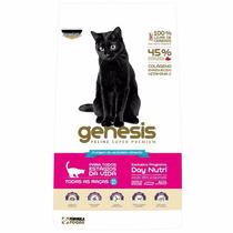 Ração Premiatta Genesis Para Gatos De 0,2 A 6kg - Saco 1,2k