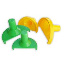 Kit Forma Modelador Pastel Risoli Salgados Massas Conjunto 2