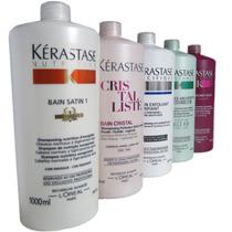 Kerastase Shampoo Bain Satin, Forc 1 Litro - Todas As Linhas