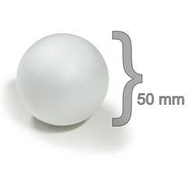 Bola Isopor 50mm Artesanato C/ 50 Unidades - Aproveite!