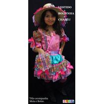 Vestido De Festa Junina Infantil Luxo Junino Para Criança