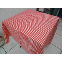 Toalha De Mesa Xadrez 140x140