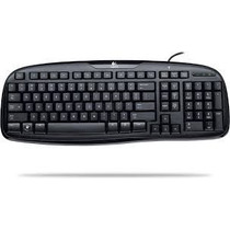 Teclado Logitech Classic Keyboard 200 Usb Abnt2