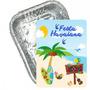Adesivo Para Marmita Pequena 220ml Festa Havaiana - 05 Unida