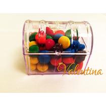20 Mini Baú Acrílico - Lembrancinha*festas - Frete Barato