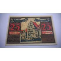 Cédula Notgeld 25 Pfennig 1921 - Lt0077