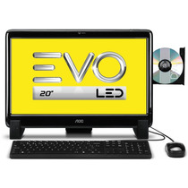Aoc All In One Evo Led 20525u Amd E1-1200 2gb Hd 500gb 20pol