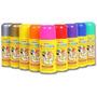 Tinta Spray Para Cabelos Cores Brasil(sai Fácil Na Água)cx6