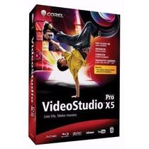 Edição De Video Corel Video Studio Pro X5 Original