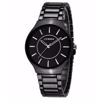 Relógio Masculino Sinobi Ultrafino + Frete Grátis