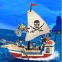 Barco Pirata De Brinquedo Compatível Lego - Pronta Entrega