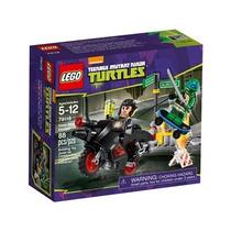 Lego Tartarugas Ninja A Fuga De Motocicleta De Karai 79118