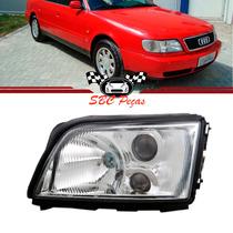 Farol Audi A6 Sem Auxiliar 1994 1995 1996 94 95 96 Esquerdo