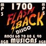 2 Dvds 1700 Musicas Mp3 Flash Back Disco Anos 60 70 80 &90