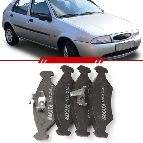 Jogo Pastilha Freio Dianteiro Ford Fiesta Ka 1994 A 1999