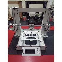 Estrutura Frame Mdf Branco Revestido Impressora 3d Graber I3