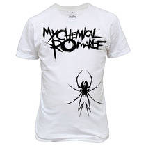 Camiseta My Chemical Romance Banda De Rock Promoção