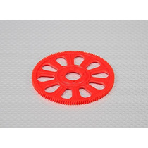 Helical 121t Main Gear For 450 Size Helicopter - Red Align