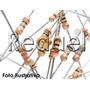 100 Resistores De 1/4w Cr25 Resistor De Carbono Para Led Pic