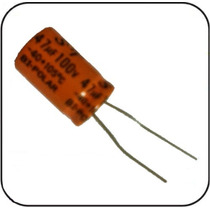 Capacitor Eletrolitico Bipolar 47 Uf X 100v Driver Corneta