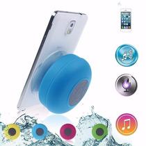 Caixa Caixinha De Som Portátil Bluetooth Prova De Água Rosa