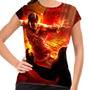 Camiseta Mortal Kombat Liu Kang Baby Look