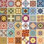 Adesivo  Azulejos Decorativos 36 Unidades De 15cm