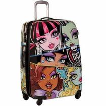 Mala Viagem Rodinha G Monster High Infantil Menina Sestini