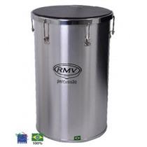 Percussão Tantan Rmv Em Aluminio 14x16 Com Nfe Original