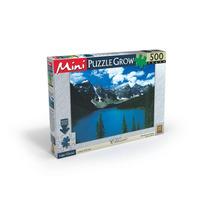 Novo Quebra-cabeça Mini Da Grow 500 Peças Lago Glacial