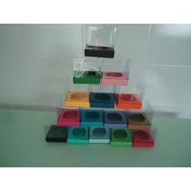 Pacote Com 10 Caixas De Acetato Para Cupcake (wrappers)