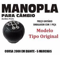 Manopla Cambio Tipo Original Corsa 2000 Preta - 40108