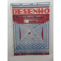 Sennem Bandeira! Desenho Para Curso Ginasial 2ª Série! 1959