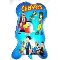 Balão Metalizado Turma Do Chaves (kit C/ 30 Balões)