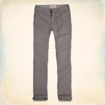 Calça Hollister Slim Straight Chinos Original