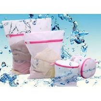 Frete Grátis! Kit 3 Rede Protetora Saco Maquina Lavar Roupa
