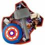 Martelo Thor (que Vira Cofre) E Escudo Capitão America