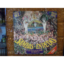 Vinil Lp Sambas De Enredo - Carnaval 1987 - Com Encarte