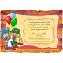 Convite Infantil Aniversário Pergaminho Patati Patata