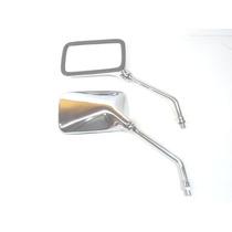Espelho Retrovisor Twister Cb 300r Falcon Cb 500 Cromado