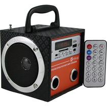 Caixa De Som Yy 02 Portátil Mp3 Entrada Usb Pen Drive Rádio