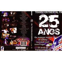 Dvd Samba Radio Transcontinental Fm 25 Anos