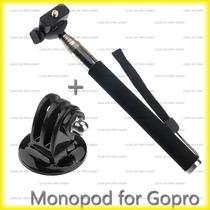 Gopro Monopod Bastão De Mão Retrátil Go Pro Handheld 104cm
