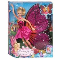 Barbie Butterfly E A Princesa Fairy Boneca